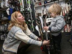 Půjčovna lyží v Litoměřicích