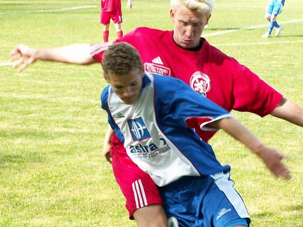 Litoměřičtí fotbalisté vítězstvím v Modré zachránili krajský přebor