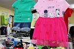Zákazníci mohli v pondělí 12. dubna navštívit také obchod s oblečením pro děti v Novobranské ulici v Litoměřicích.