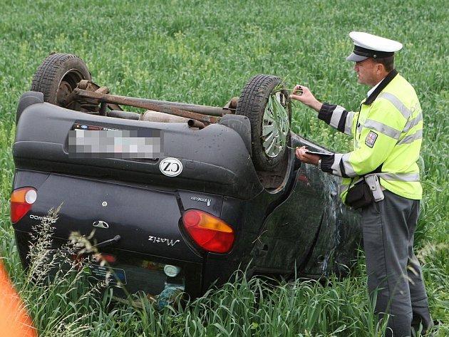 Dopravní nehoda u Třebenic