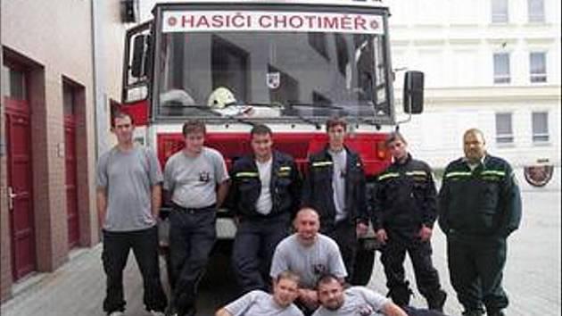 Chotiměřští hasiči.