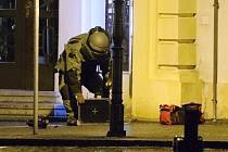 Mírové náměstí Litoměřice, pondělí 20. ledna 2014