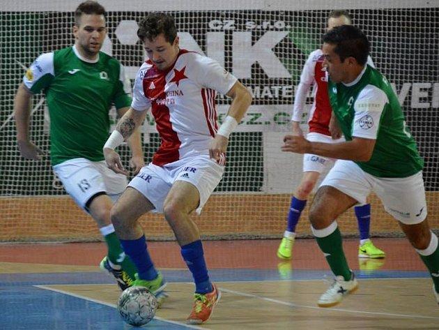 Futsalisté Gardenline na Slavii.