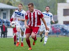 Fotbalová divize B: Kladno - Brozany.