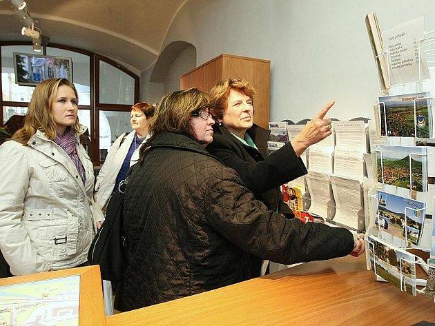 Infocentrum v Litoměřicích.