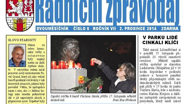 Radniční zpravodaj , ilustrační foto.