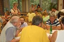 Projednávání akčního plánu v Litoměřicích