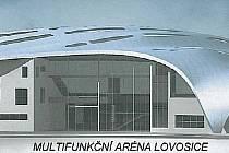 Takto by měla vypadat lovosická multifunkční aréna.
