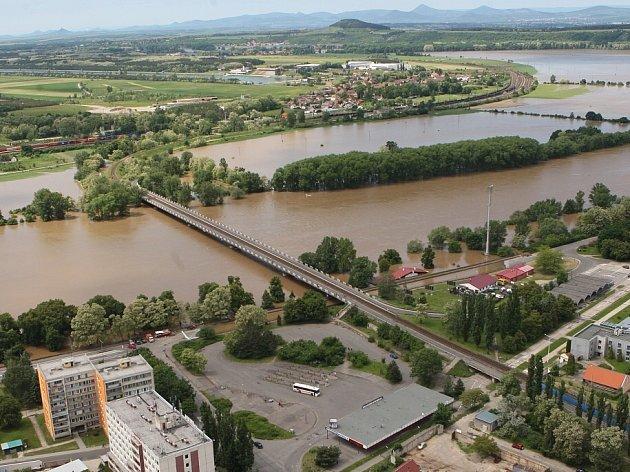 Povodeň na Štětsku