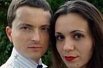 Československé komorní duo – český houslista Pavel Burdych a slovenská pianistka Zuzana Berešová.