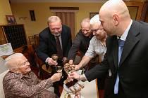 Hedvika Mazourková oslavila 100 let života