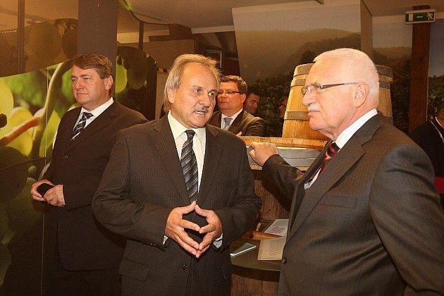 Prezidentský pár na Litoměřicku - Litoměřice.