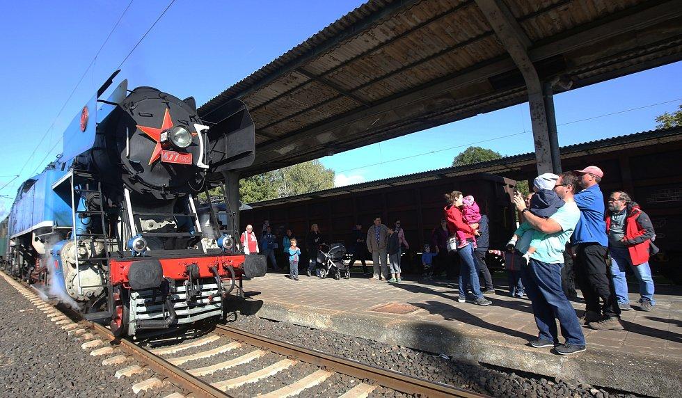 Oslavu 120. výročí Švestkové dráhy.