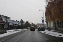 Sněhový poprašek pokryl Lovosicko