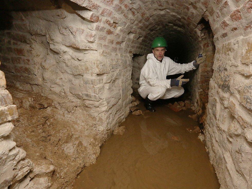 Historická kanalizace v Terezíně