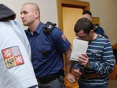 Soud s kamýckým vrahem Michalem Čámským.