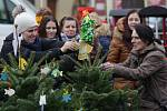 Zahájení vánočních trhů na Mírovém náměstí v Litoměřicích