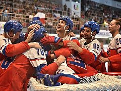 Čeští inline hokejisté získali zlaté medaile na Světových hrách v neolympijských disciplínách.