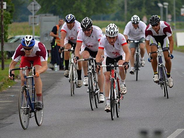 Časovka tříčlenných družstev Giro de Zavadilka 2017.