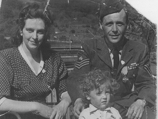 Jaroslav Libich s rodinou.