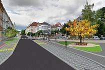 Jak bude vypadat Palachova ulice po rekonstrukci
