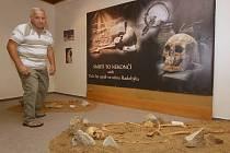 TŘI STŘEDOVĚKÉ rekonstruované hroby, které byly nalezeny u Mlékojed, mohou návštěvníci muzea vidět  do konce října.