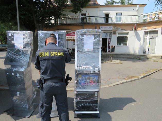 Nelegální herna v Lovosicích.