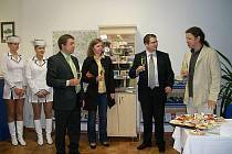 Slavnostní otevření Informačního centra ve Štětí.