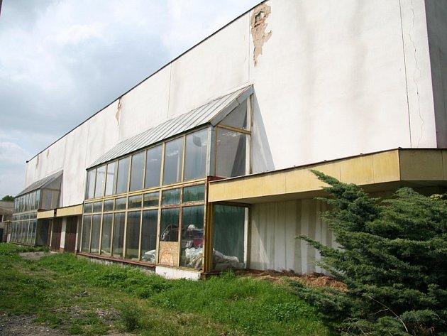 Sportovní hala na Masarykově třídě.