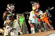 Motorkáři na Kamýku.