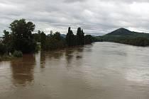 Povodeň v roce 2002 na Litoměřicku.