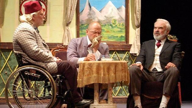 Cimrmani v Divadle K. H. Máchy v Litoměřicích - pondělí 5. října 2009.