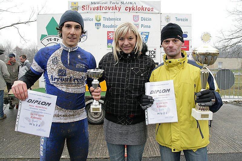 Ceny v Terezíně předávala i nejlepším Severočechům Lucie Záleská - Jan Bureš a Petr Šinágl.
