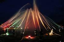 Hasičské slavnosti 2017: Večerní program na Lodním náměstí