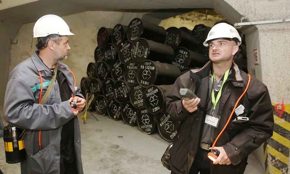 Druhý ročník dne otevřených dveří v objektu úložiště radioaktivního odpadu SURAO v Litoměřicích.
