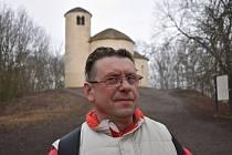Pavel Hlušička vyrazil na pouť, zatím skončila na Řípu