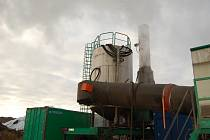 Technologie na čištění kontaminovaných zemin Savaterra ve finském Kemi.