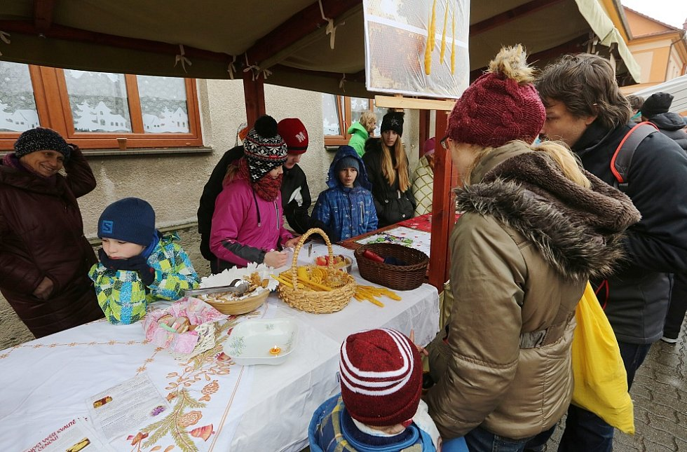 Tradiční vánoční jarmark v Třebenicích.