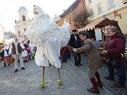 Tradiční velikonoční jarmark v Úštěku na Litoměřicku