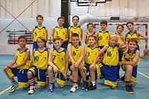 Nejmladší basketbalisté Slavoje v Liberci.