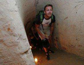Prohlídky podzemních prostor v Terezíně.