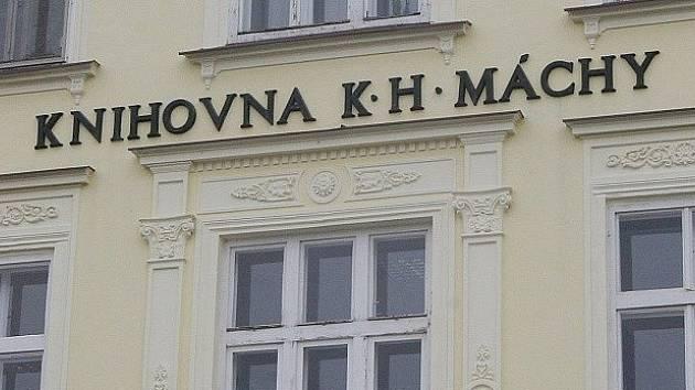 Knihovna K. H. Máchy v Litoměřicích.