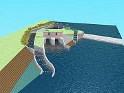 Díky návrhům od veřejnosti byl projekt MVE Písty Hostěnice doplněn o nový rybí přechod a jalový průtok.
