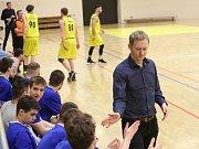 Basketbalové utkání mezi Litoměřicemi a Olomoucí, A1 1. liga 2018/2019, Jan Šotnar