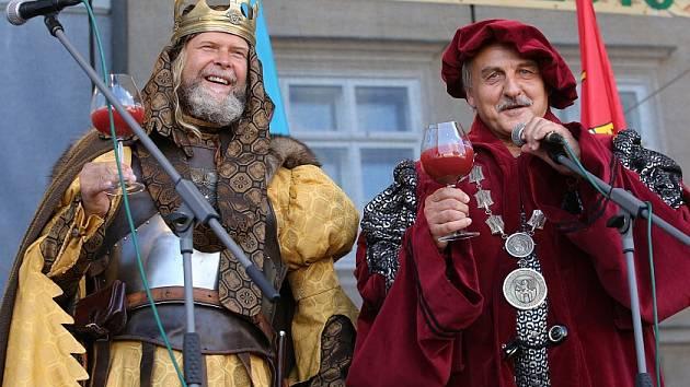 Vinobraní v Litoměřicích, sobota 19.9.2015