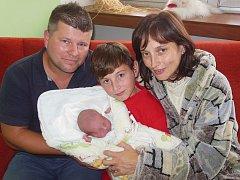 Kateřině Kohoutové a Rubinu Dittmannovi ze Sedlece se 28.8. v 5.58 hodin narodil v Litoměřicích syn Adam Dittmann (49 cm, 3,16 kg). Na snímku i s bratrem Filipem.