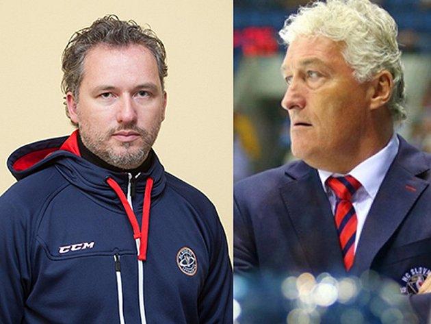Jeden Miloš Říha trénuje Slovan v KHL, druhý koučuje Stadion
