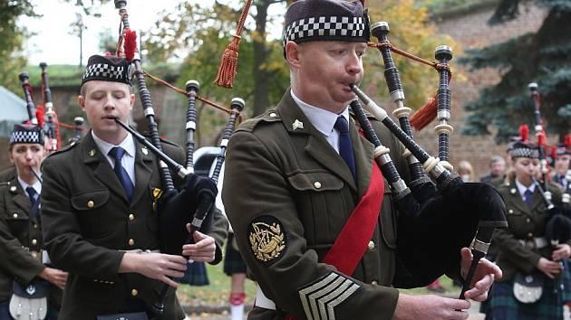Josefínské slavnosti 2015, sobota - dopolední přehlídka vojsk
