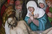 Pašijový cyklus Hanse Hesse z kostela Narození Panny Marie v Roudnici nad Labem.
