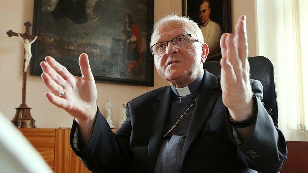 Litoměřický biskup Jan Baxant